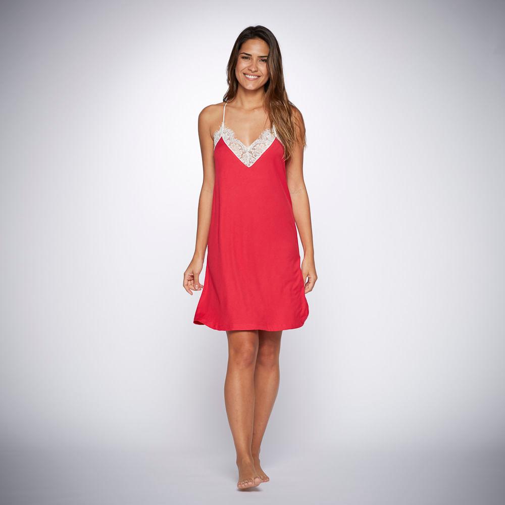 37050ff8e1d1 Camisola Jasmine - Vermelho - Gg - Trousseau